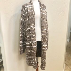 NWT Lane Bryant  chunky open front cardigan duster